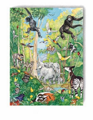 Ravensburger 100 Piece <br>Hide & Seek Jungle
