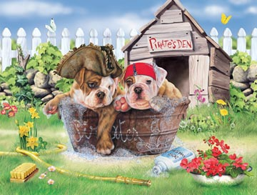 Ravensburger <br>100 Piece Puzzle <br>Pirate Pups