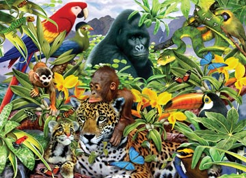 Ravensburger <br>200 Piece <br>Animal Planet <br>Jungle Friends