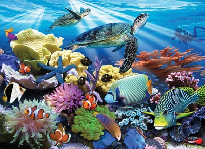 Ravensburger 200 Piece <br>Ocean Turtles