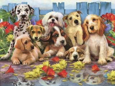 Ravensburger 200 Piece <br>Posing Pups