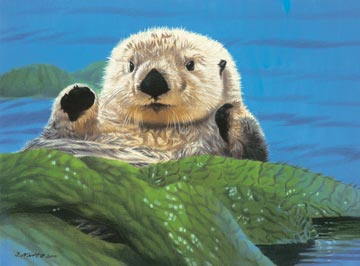 Ravensburger <br>300 Piece <br>Friendly Otter