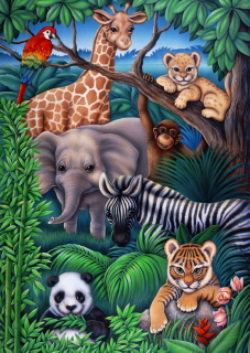 Ravensburger 35 Piece <br>Animal Kingdom