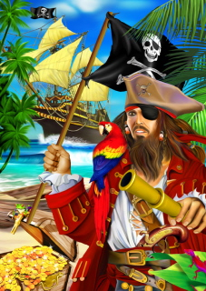 Ravensburger 35 Piece <br>Pirate Booty