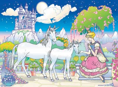 Ravensburger <br>Floor Puzzle<br>Fairy Princess