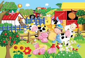 Ravensburger <br>Floor Puzzle <br>My Little Farm
