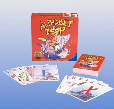 Ravensburger Game <br>Alphabet Zoop