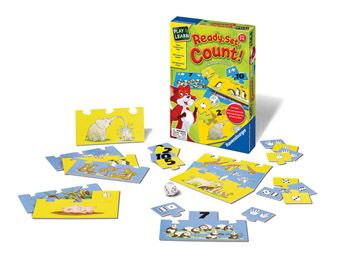 Ravensburger Game <br>Ready, Set, Count