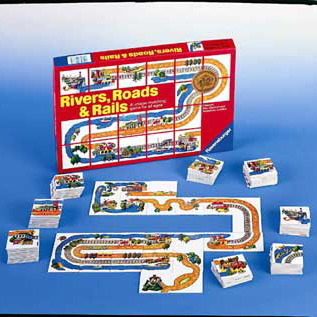 Ravensburger Games <br>Rivers, Roads & Rails
