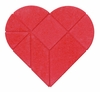 Anchor Stone Puzzle <br>Red Heart