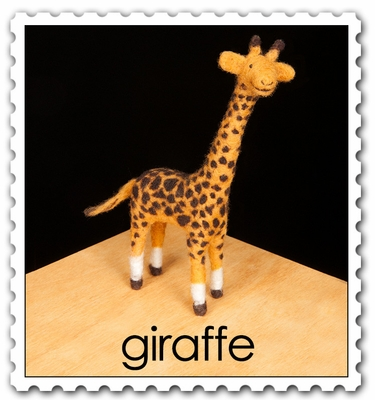 Wool Pets <br>Giraffe <br>Intermediate