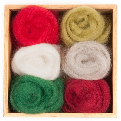 Wool Pets<br>Wool Roving <br>Holiday