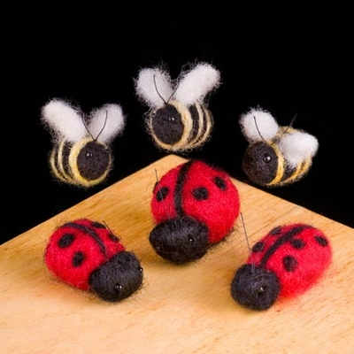 Woolpets <br>Ladybugs & Bees <br>(Easy)