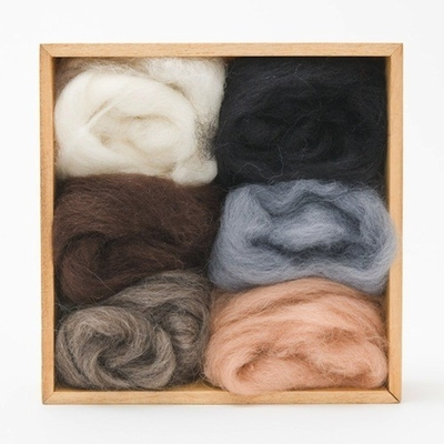 Wool Pets <br>Wool Roving <br>Neutral