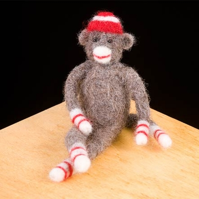 Woolpets <br>Sock Monkey <br>Intermediate