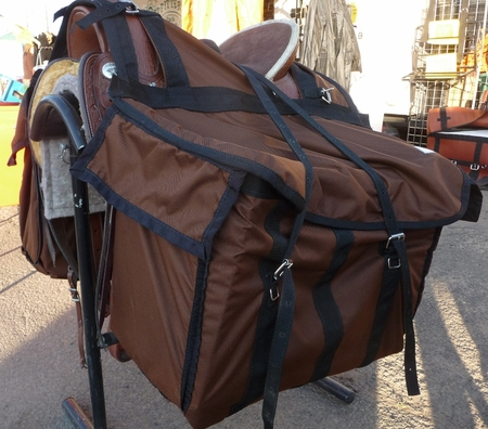Cordura Western Riding Saddle Pannier