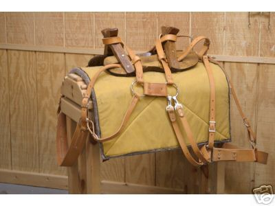 Economy Sawbuck Pack Saddle for Sale