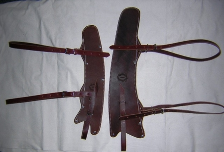 Leather Saw Covers
