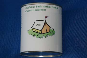 Canvas Tent Treatment