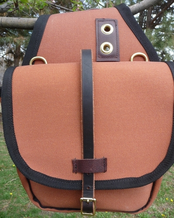 Small Bear Cloth Saddle Bag