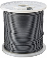 1000ft CAT6 Solid PVC Gray Bulk Cable