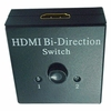 1x2 HDMI Splitter Switch with Manual  AB Pushbutton