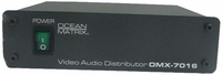 1x2 Video and Stereo Audio Distribution Amplifier