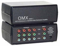 1X4 Component Video Splitter - AC Coupled w/Big Output Amps