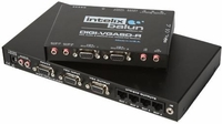 Intelix DIGI-VGASD-T4R VGA/Stereo Audio 1 x 4 Distribution Balun (with Receiver Balun)