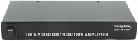 Shinybow SB-3706SV 1x8 S-Video Distribution Amplifier - TAA Compliant