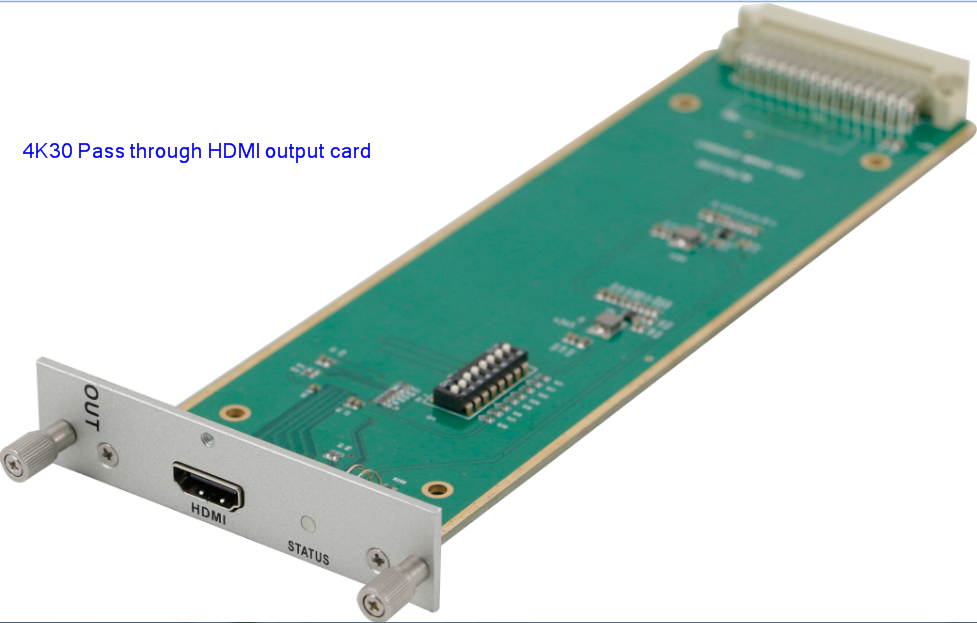 4K WolfPack 24x32 HDMI Matrix Switcher with iPad/Android App