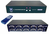 Shinybow SB-1110 2x1:8 VGA Switcher + VGA Distribution Amplifier