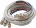 1080p 3 BNC to 3 BNC Component Video Cable - 6 Foot