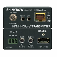 Shinybow SB-6333x3-KIT 3-Play HDBaseT Tx & RX KIT