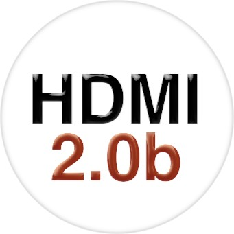 4 Foot HDMI Cable - HUGE 24 Gauge w/4K, HDR, HDMI 2.0b & HDCP 2.2 Compliantcy