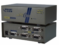 400MHz 4Port VGA Video Splitter/Distribution Amplifier