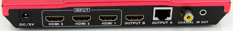 4K 3X2 HDMI Matrix Switcher with HDMI & CAT5 Outputs