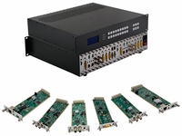4K/60 9x9 Modular Matrix Switcher Chassis - You Design It