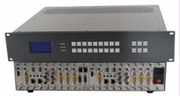 4K/30 9x9 Modular Matrix Switcher Chassis - You Design It