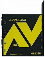 Adder ALAV104T-US AV 100 Series Extender Multipoint 4 Way Transmitter