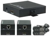 1x2 HDMI Splitter Distribution Amplifier Extender with CATX
