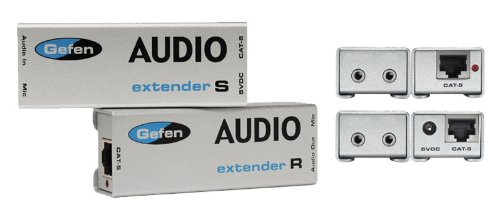 Gefen EXT-AUD-1000 2-way Audio Extender over one CAT-5