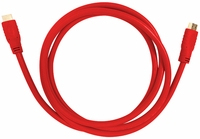 Aurora Multimedia CA-HDMI-RED-3 HDMI 2.0a 18Gbps Red Cables