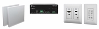Aurora Multimedia ORC-1C-W Hdmi/Vga Hdbaset Extender Kit With Control