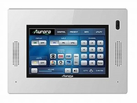 Aurora Multimedia QXT-500-W Dual Core IP HD 5in Touch Panel-White