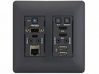Aurora Multimedia VLX-TCW2V-C-B 4K Audio/Video Distribution WallPlate