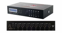 Avenview SW-HBT-C6IRLT-8x8E HDMI HDBaseT Lite Matrix Switch CAT5e/6/7