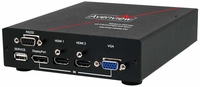 Avenview SW-HVD-HDMA-4X1 Multi Input Switcher with IR/ RS232 Audio