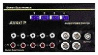Burst Electronics AV4X1P 4x1 Video/Audio Passive Switcher