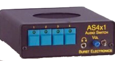 Burst Electronics AS-4X1 Stereo Audio Switcher